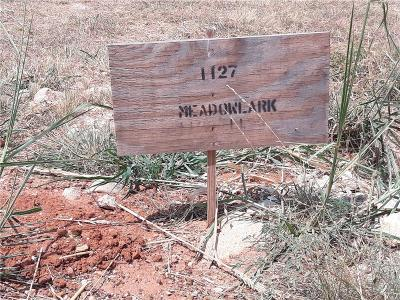 Rhome Residential Lots & Land For Sale: 1127 Meadowlark Drive