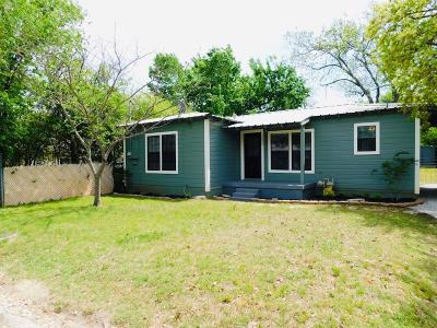 Erath County Single Family Home Active Option Contract: 1090 W Elm Street