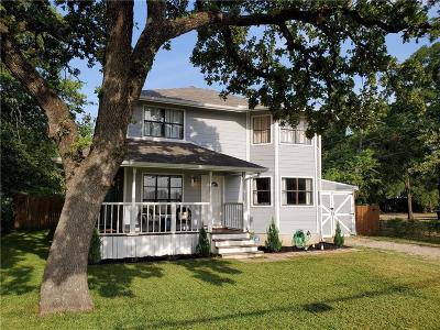 Kennedale Single Family Home Active Option Contract: 913 Corry A Edwards Drive