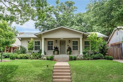 Fort Worth Single Family Home For Sale: 4720 Washburn Avenue