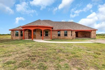 Kaufman Single Family Home For Sale: 1436 County Road 4106