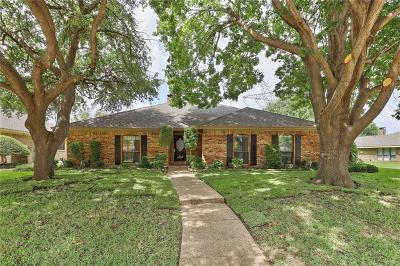 Plano Single Family Home Active Option Contract: 4305 Hartford Drive