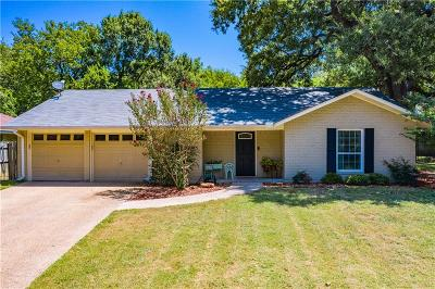 Corsicana Single Family Home Active Option Contract: 2201 Cambridge Street