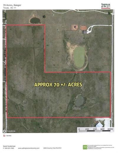 Denton County Residential Lots & Land For Sale: Tbd Trietsch Road