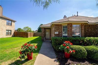 Wylie Single Family Home Active Option Contract: 323 Highland Valley Court