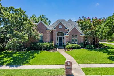 Keller Single Family Home For Sale: 1608 Village Trail