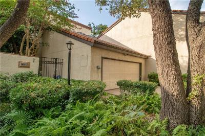 Lake Highlands Townhouse For Sale: 9607 Knobby Tree