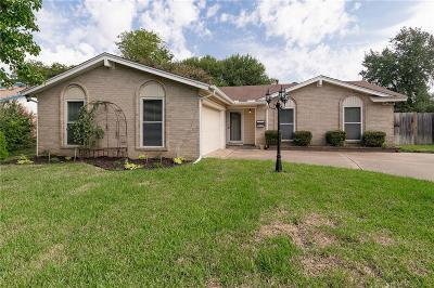 North Richland Hills Single Family Home Active Option Contract: 7501 Jade Circle
