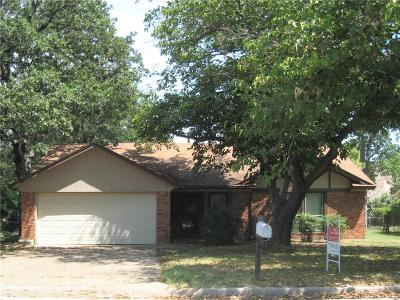 Azle Single Family Home Active Option Contract: 120 Pecan Street