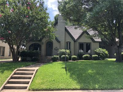 Fort Worth Single Family Home For Sale: 4009 W 4th Street