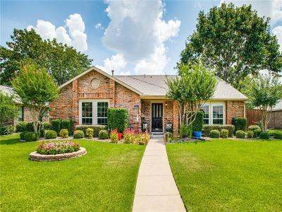 Coppell Single Family Home Active Option Contract: 232 Magnolia Drive