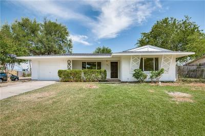 Irving Single Family Home Active Option Contract: 2417 Patrick Street