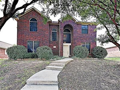 Lewisville Single Family Home For Sale: 2133 Fountain Drive