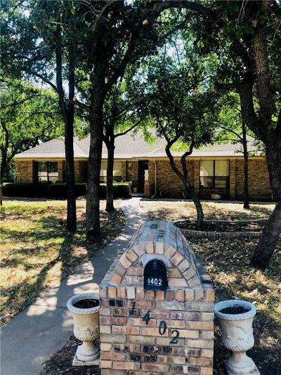 Graham Single Family Home For Sale: 1402 S Rodgers Drive