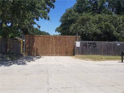 Lewisville Commercial Lots & Land For Sale: 475 Bennett Lane