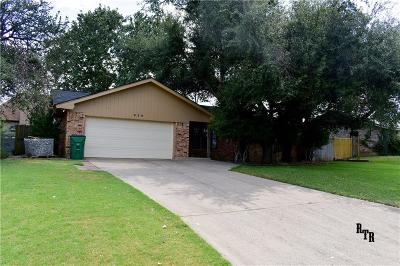 Erath County Single Family Home For Sale: 520 Spring Meadow Street