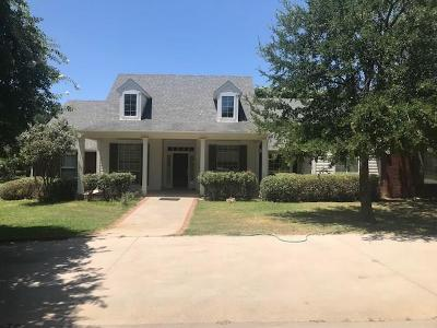 Arlington Single Family Home Active Option Contract: 7502 Sharon Lee Drive