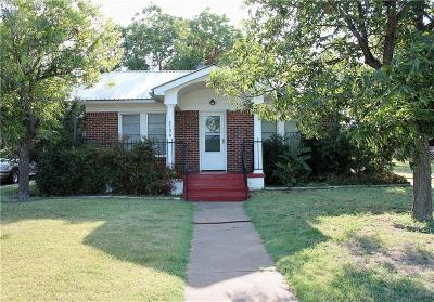 Cisco TX Single Family Home For Sale: $82,500