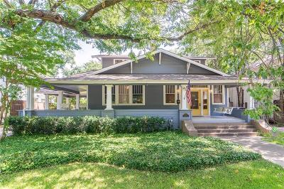 Dallas County Single Family Home For Sale: 4714 Swiss Avenue