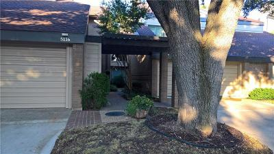 Dallas Condo For Sale: 5116 Westgrove Drive