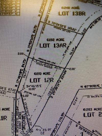 Mineral Wells Residential Lots & Land For Sale: Lot 12r Shadowview Court