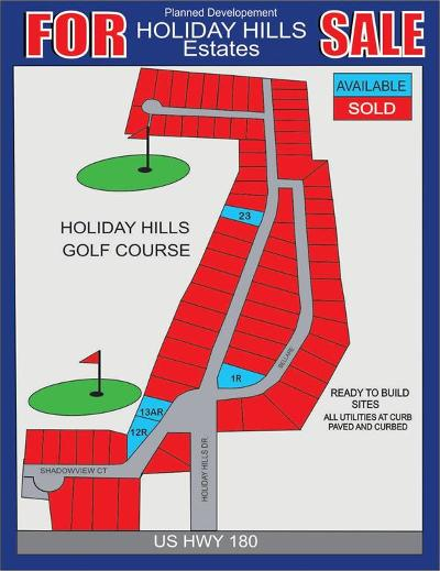 Mineral Wells Residential Lots & Land For Sale: Lot13ar Holiday Hills Drive