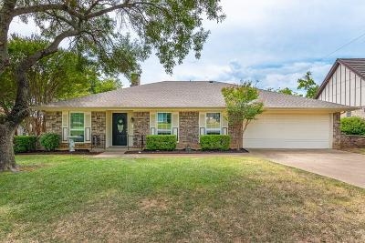 Hurst Single Family Home Active Option Contract: 2029 Mesquite Trail