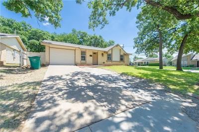 Lewisville Single Family Home Active Contingent: 1155 Woodmere Drive