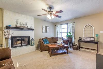 Abilene Single Family Home Active Option Contract: 3802 Mark Court