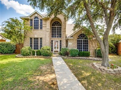 Frisco Single Family Home Active Option Contract: 7601 Brookview Drive