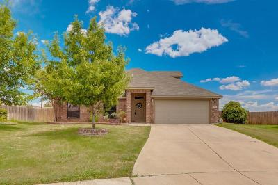 Burleson Single Family Home Active Option Contract: 786 Ruby Court