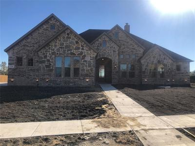 Waxahachie Single Family Home For Sale: 128 Water Garden Drive