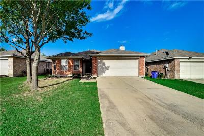 Forney Single Family Home Active Option Contract: 1012 Halifax Lane