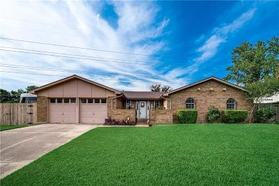 North Richland Hills Single Family Home Active Option Contract: 5525 Scott Drive