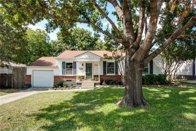 Farmers Branch Single Family Home Active Option Contract: 2615 Mount View Drive