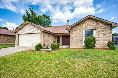 Bedford Single Family Home Active Option Contract: 2524 Chinaberry Drive