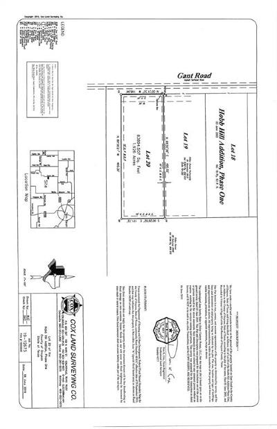 Grayson County Residential Lots & Land For Sale: Lot 20 Gant Road