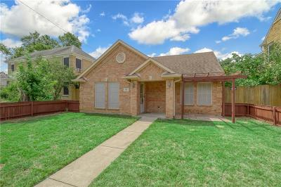 Single Family Home For Sale: 630 W Neely Street