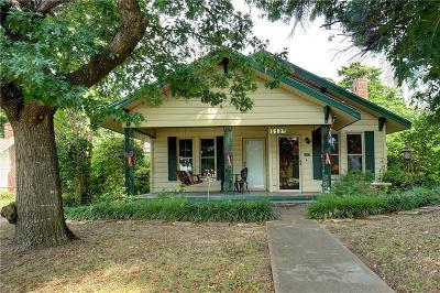 Waxahachie Single Family Home Active Option Contract: 1107 E Marvin Avenue