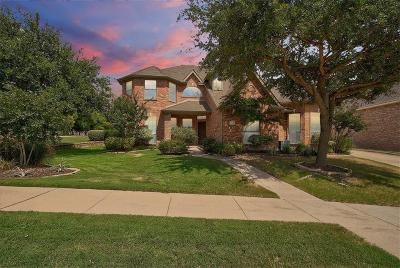 McKinney Single Family Home Active Option Contract: 216 Orchard Park Court