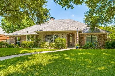 Coppell Single Family Home Active Option Contract: 612 Briarglen Drive