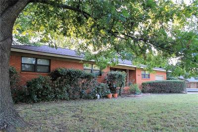 Erath County Single Family Home Active Option Contract: 1120 N Harbin Drive