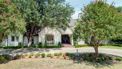 Dallas County Single Family Home For Sale: 5419 Bent Tree Drive