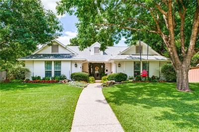 Coppell Single Family Home Active Option Contract: 229 Hill Drive