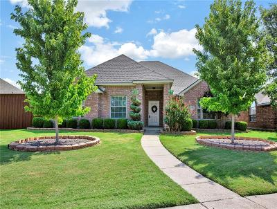 Richardson Single Family Home Active Option Contract: 3706 Charleston Drive