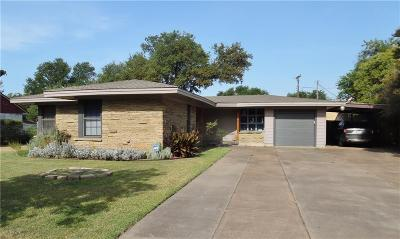 Fort Worth Single Family Home For Sale: 4140 Anita Avenue