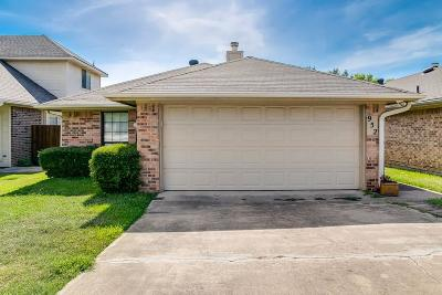 Lewisville Single Family Home Active Option Contract: 952 S Old Orchard Lane