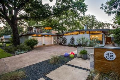 Fort Worth TX Single Family Home For Sale: $499,500
