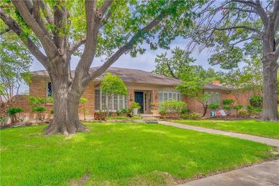 Dallas Single Family Home For Sale: 9370 Briarhurst Drive