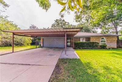 Richland Hills Single Family Home Active Option Contract: 2812 Faye Drive